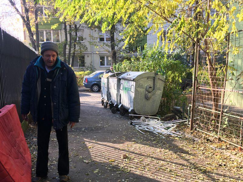 dakloze Boekarest Roemenië