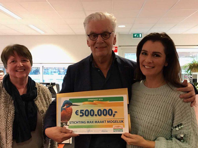 Cheque twv 500.000 euro