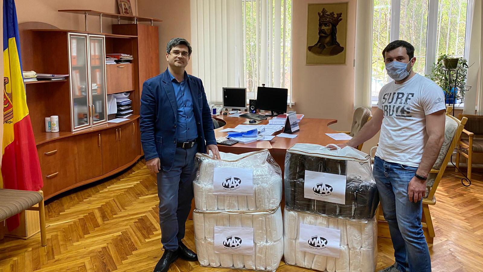 Mondkapjes voor Moldavië